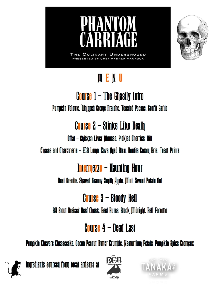 Phantom Carriage Menu
