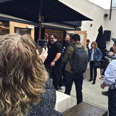 Even Jon Favreau (Director of Chef & Ironman) made an apperance!